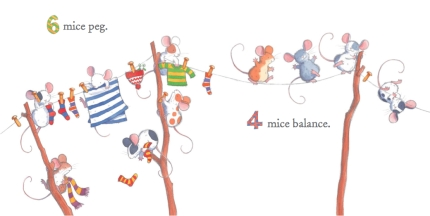 6 mice peg